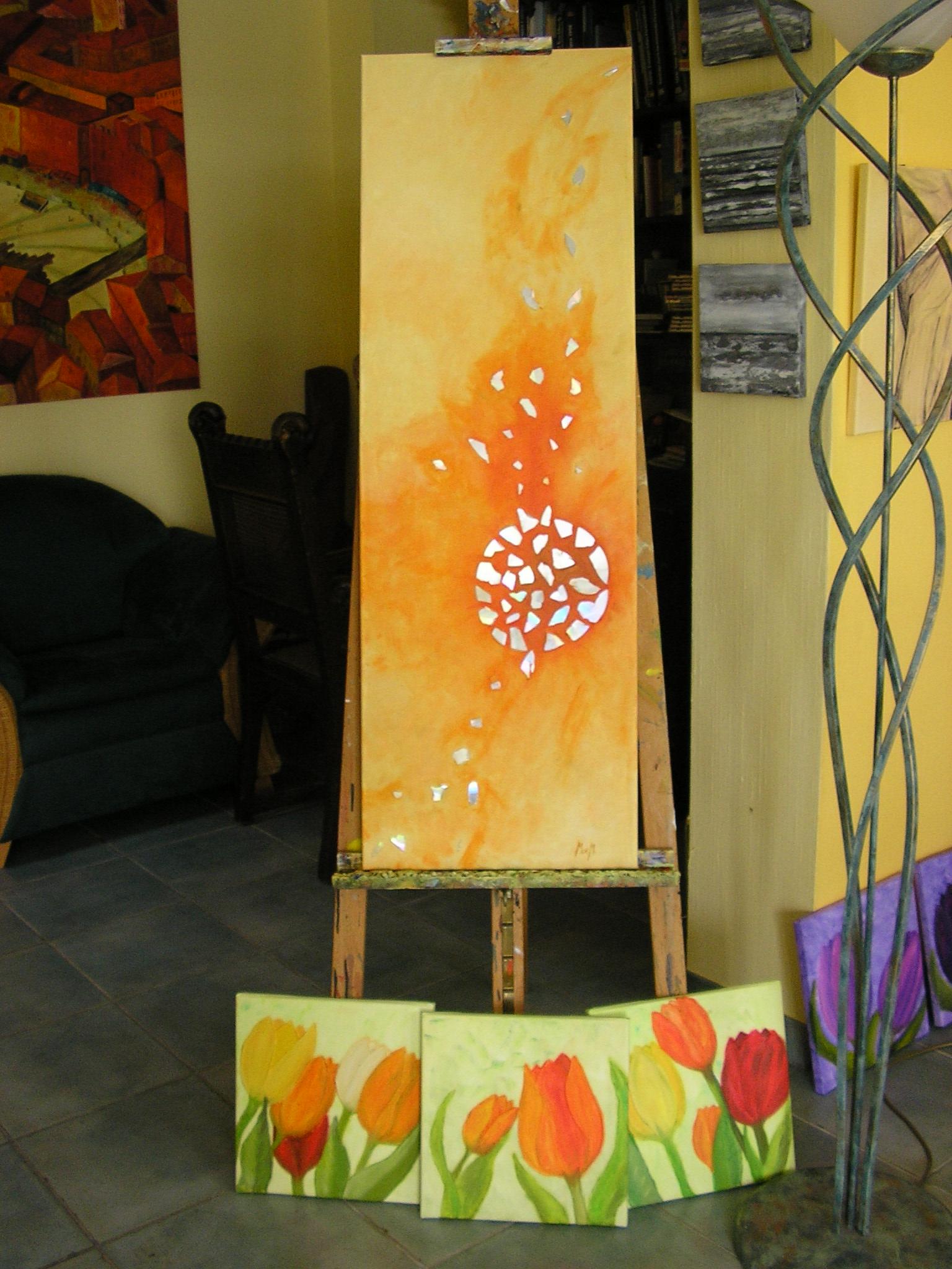 fotos acryl auf leinwand acryl a l auf 4 bildern acryl a l. Black Bedroom Furniture Sets. Home Design Ideas